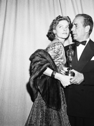 "... Bacall and his Oscar for Best Actor for ""The African Queen"" (1951"