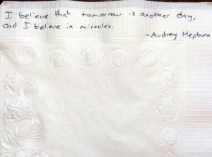 Father Dying From Cancer Has Written His Daughter Over 800 Napkin ...
