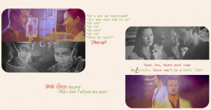 grey anatomy | It's hard to put into words way I love Mark and Lexie ...