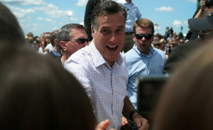 "guess it wasn't ""his turn"" after all. Yes, Tagg Romney ..."