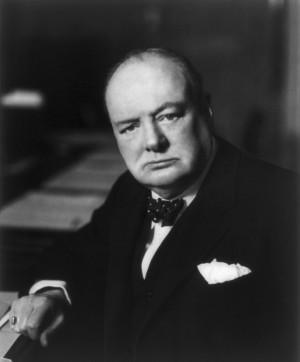 Cuando Churchill cumplió 80 años un fotógrafo menor de 30 fue a ...