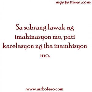 patama tagalog quotes