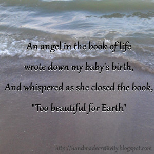 ... 22: Words - Capture Your Grief - Pregnancy/Infant Loss Awareness Month