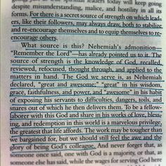 Packer, on Nehemiah's Source of Strength in A Passion for ...