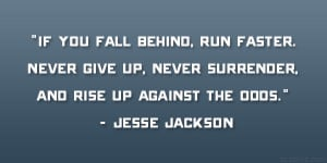Never Give Up Never Surrender Quote Never give up, never surrender