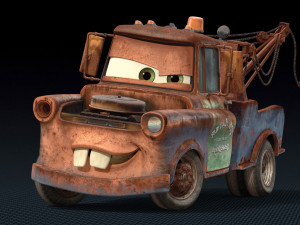 Mater The Old Tow Truck From The Movie Cars Wallpaper