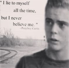 Outsiders Book Ponyboy Quotes