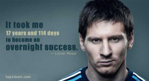 ... 17 years and 114 days to become an overnight success.