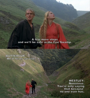 ... make a board for my princess bride quotes. I love this movie so much