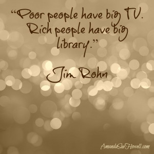 Poor people have a big TV #quotes