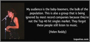 More Helen Reddy Quotes