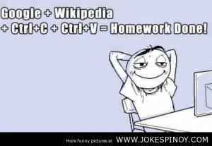 Not Doing Homework Quotes Doing homework nowadays