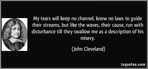 More John Cleveland Quotes