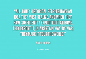 Victor Cousin Quotes