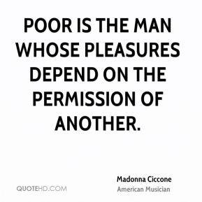 madonna ciccone madonna ciccone poor is the man whose pleasures jpg