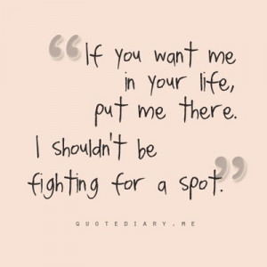 Something worth fighting for...