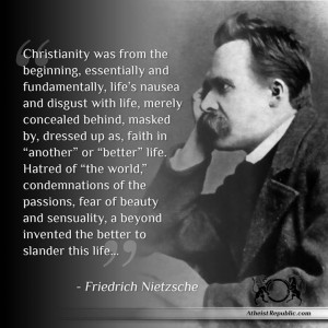 Friedrich Nietzsche on Christianity and Afterlife