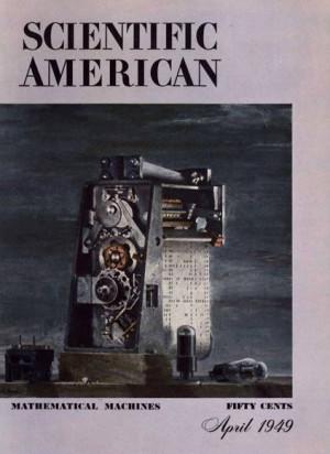 Walter Tandy Murch, cover design for Scientific American, 1949. Source