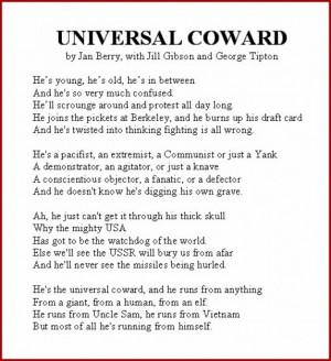 Universal Coward Lyrics