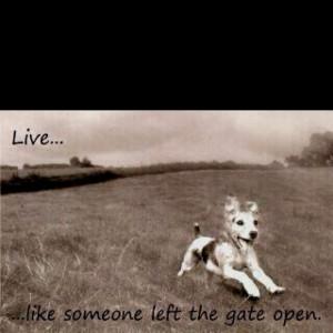 good motto....