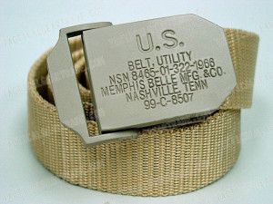us army military utility tactical bdu duty belt tan