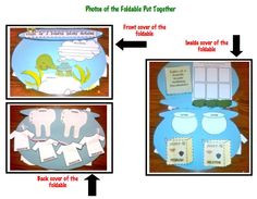 Tales of a Fourth Grade Nothing novel study Foldable $