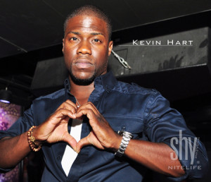 Kevin Hart Parties It Up