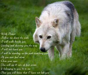 Wolves Wolf Prayer Wallpaper