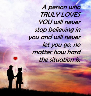 Quotes About Believing In Someone You Love