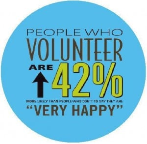 ... fun and awesome things going on this past week for National Volunteer
