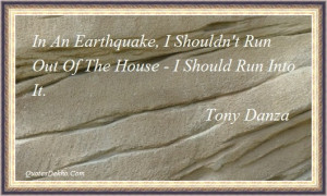 Earthquake Quotes With Wallpaper