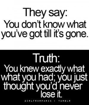 Truth Hurts!