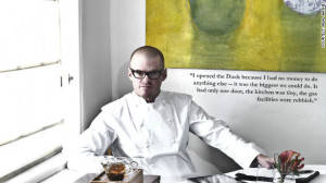 Heston Blumenthal's snail porridge obsession
