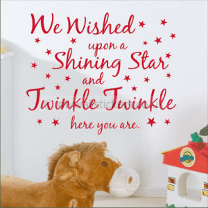 We Wished Upon A Shining Star