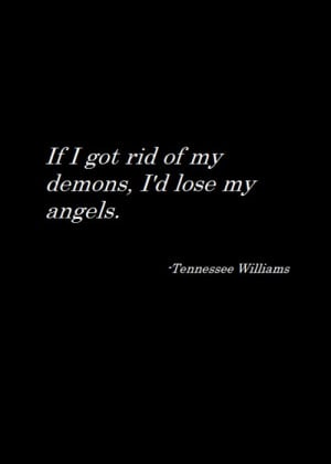 Love this Tennessee Williams quote | Author Quotes