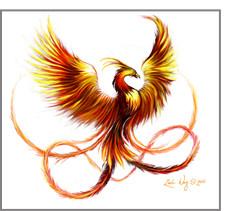 real phoenix bird