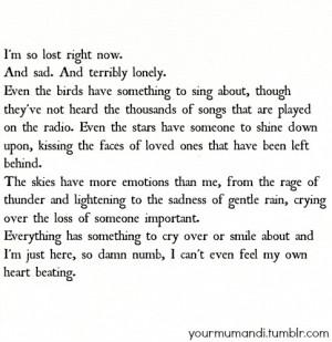 Long Sad Love Quotes Tumblr