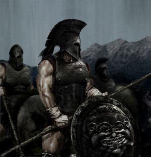 Greek Hoplites (heavy infantry)