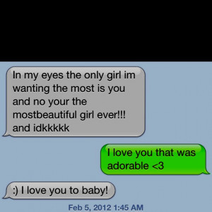 Cute things boyfriends say