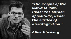 Allen Ginsberg' Quotes (Author of Howl and Other Poems)