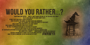 ... YOU RATHER…Have The Sorting Hat or Peeves as Your Conscience? #MNWYR