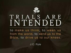 Trials are