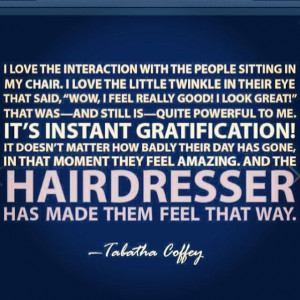 Hairdresser inspiration