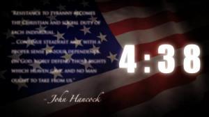 Patriotic Quotes Countdown