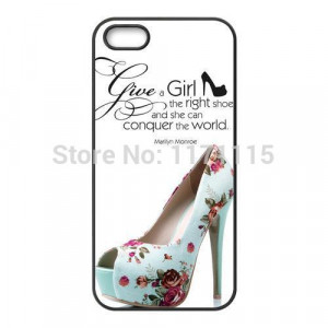 Famous Quotes Girl the Right Shoes and She Can Conquer the World ...