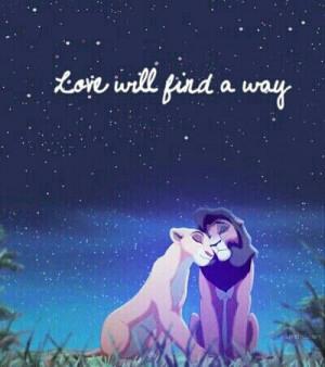 Love will find a way.
