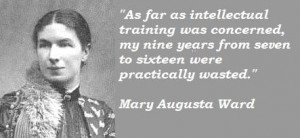 Mary augusta ward famous quotes 2