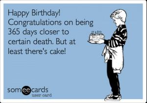 Happy Birthday Funny Greetings!