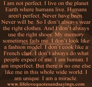 quotes about not being perfect girl quotes about not being perfect ...