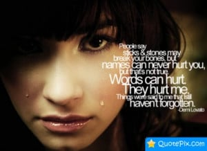 Quotes For > Words Hurt Quotes S...